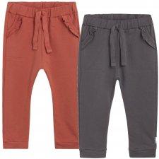 Pantaloni Thilde per bambine in Cotone Biologico