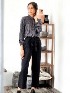 Pantaloni Tunbridge da donna in Tencel e Bamboo
