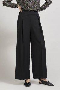 Pantaloni TUNDRA con pinces da donna in pura lana, moda etica e sostenibile