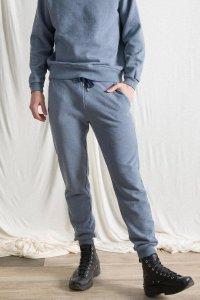 Pantaloni Tuta Jesse da Uomo in cotone da jeans rigenerato