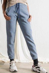 Pantaloni Tuta Olimpia da Donna in cotone da jeans rigenerato