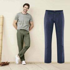 Pantaloni Uomo Gilbert in Lino e Cotone Biologico