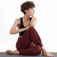 Pantaloni Yoga True North in Tencel Lyocell