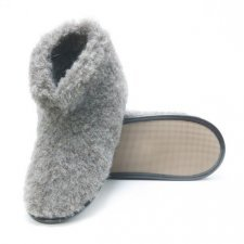 Pantofole babbucce Smarty in lana naturale