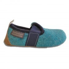 Pantofole Dobby bambini in feltro di lana