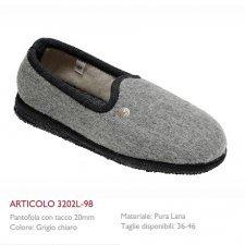 Pantofole chiuse Oliver in feltro di lana