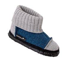 Pantofole in lana biologica unisex alte