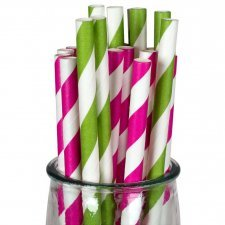 Paper straws 100% biodegradable