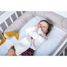 Paracolpi e Riduttore Baby Coniglio in cotone biologico