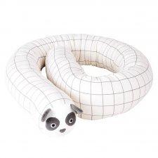 Paracolpi e Riduttore Baby Panda in cotone biologico