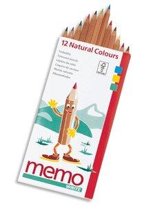Pastelli colorati 12 pezzi