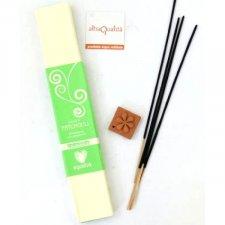 Patchouli Incense + Incense Holder Fairtrade