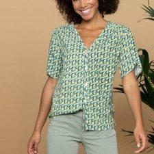 Liletta short-sleeved shirt in ECOVERO ™ viscose