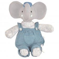 Peluche Alvin l'elefante in Cotone bio e caucciù naturale