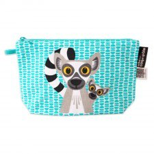 Pencil case Mibo Lemur in organic cotton