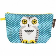 Pencil case Mibo snowy Owl in organic cotton