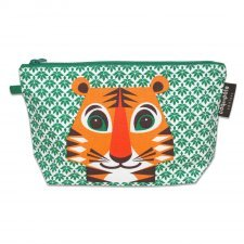 Pencil case Mibo Tiger in organic cotton