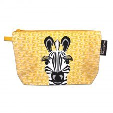 Pencil case Mibo Zebra in organic cotton