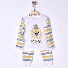 Pigiama Bambino The King in cotone biologico