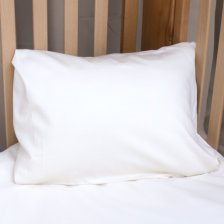 Pillow case Natural White in organic cotton 40x60 cm