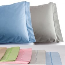Pillowcase Mymami 55x85cm in Organic cotton Coloured