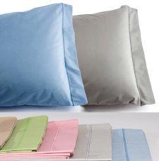 Pillowcase Mymami 55x85cm in Organic cotton Coloured