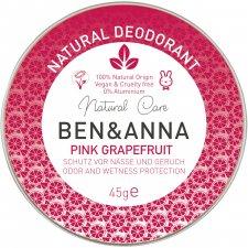 Pink Grapefruit Vegan Zero Waste cream deodorant