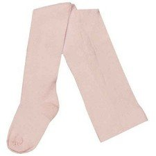 Pink tights in organic cotton