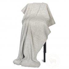 Plaid in feltro di lana merinos