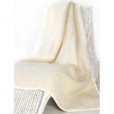 Plaid in lana merinos letto singolo