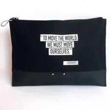 Pochette grande TO MOVE THE WORLD Equo Solidale