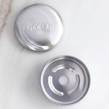 Porta solidi Coccoon 100% alluminio
