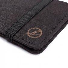 Portafoglio compatto Vegan in Jacroki® fibra legno certificata