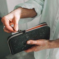 Portafoglio da donna PETREA in Sughero e Cotone Biologico