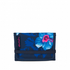 Portafoglio per ragazze Waikiki Blue in Pet Riciclato Equo Solidale