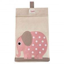 Portapannolini 100% cotone Elefante