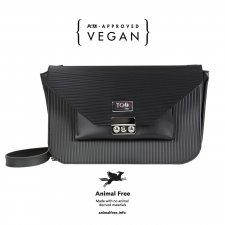 Portofino Bag in vegetable faux-leather and recycled pvc