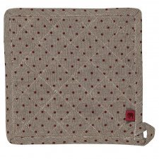 Pot holder in organic cotton POLLY