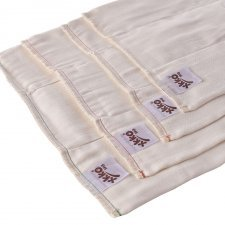 Prefold nappy Infant in bamboo and cotton - 6 pcs