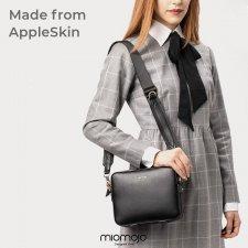 Prima Linea DALILA black bag in Vegan apple leather