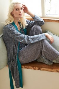 Printed Dressing Gown