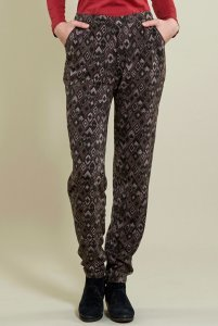 Prism trouser in viscose