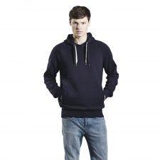 Pullover hoody unisex in organic cotton