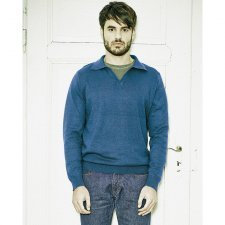 Pullover organic cotton and hemp