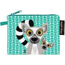 Purse Mibo Lemur in organic cotton