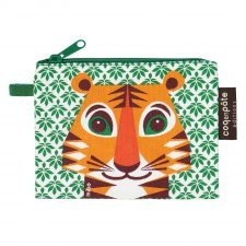Purse Mibo Tiger in organic cotton