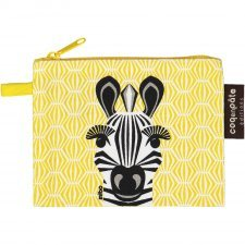 Purse Mibo Zebra in organic cotton