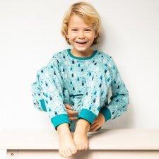 Pyjama Bears in organic cotton interlock