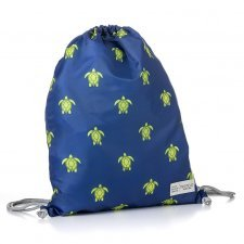 "Recycled folding backpack Sea Animals ""Save our Oceans"""