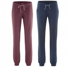 Relax woman trousers in organic cotton